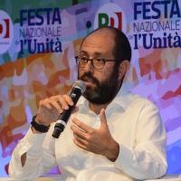 Foto Nicoloro G.   08/09/2018   Ravenna    Festa Nazionale de l' Unita'. nella foto il senatore PD Tommaso Nannicini.