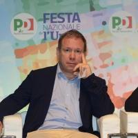 Foto Nicoloro G.   08/09/2018   Ravenna    Festa Nazionale de l' Unita'. nella foto il politico del PD Marco Leonardi.