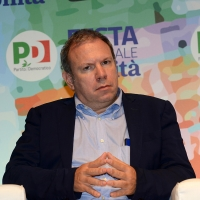 Foto Nicoloro G.   08/09/2018   Ravenna    Festa Nazionale de l' Unita'. nella foto l' economista Marco Leonardi