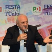 Foto Nicoloro G.   08/09/2018   Ravenna    Festa Nazionale de l' Unita'. nella foto il governatore della Campania Vincenzo De Luca.