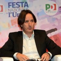 Foto Nicoloro G.   08/09/2018   Ravenna    Festa Nazionale de l' Unita'. nella foto il giornalista Jacopo Iacoboni.