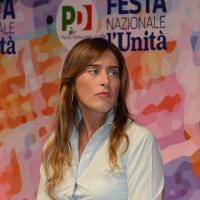 Foto Nicoloro G.   08/09/2018   Ravenna    Festa Nazionale de l' Unita'. nella foto l' ex ministra Maria Elena Boschi.