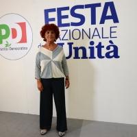 Foto Nicoloro G. 29/08/2018 Ravenna Festa Nazionale dell' Unita'. nella foto l' onorevole ex ministro Valeria Fedeli.