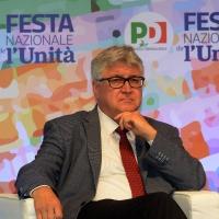 Foto Nicoloro G. 29/08/2018 Ravenna Festa Nazionale dell' Unita'. nella foto il professore Alberto De Toni, rettore dell' Universita' di Udine.