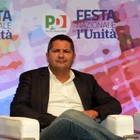 Foto Nicoloro G. 29/08/2018 Ravenna Festa Nazionale dell' Unita'. nella foto Marco Bentivogli, segretario generale Federazione Metalmeccanici.