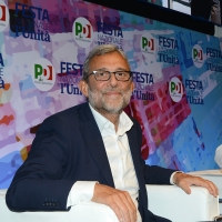 Foto Nicoloro G. 29/08/2018 Ravenna Festa Nazionale dell' Unita'. nella foto l' onorevole Roberto Giachetti.