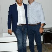 Foto Nicoloro G. 29/08/2018 Ravenna Festa Nazionale dell' Unita'. nella foto da sinistra il sindaco di Ravenna Michele De Pascale e il governatore della regione Lazio Nicola Zingaretti.