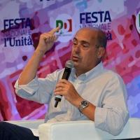 Foto Nicoloro G. 29/08/2018 Ravenna Festa Nazionale dell' Unita'. nella foto il governatore della regione Lazio Nicola Zingaretti.