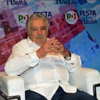 Foto Nicoloro G. 30/08/2018 Ravenna Continua la Festa Nazionale de l' Unita'. nella foto l' ex presidente dell' Uruguay Pepe Mujica.