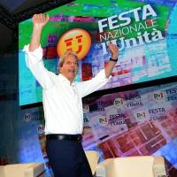 Foto Nicoloro G.   30/08/2018    Ravenna    Continua la Festa Nazionale de l' Unita'. nella foto l' onorevole Paolo Gentiloni.