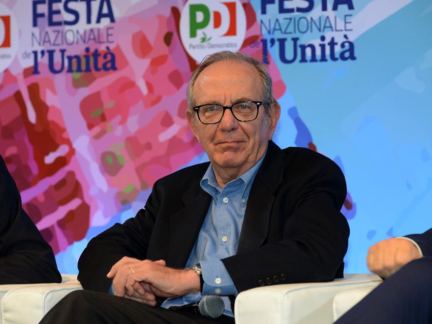 Foto Nicoloro G. 05/09/2018 Ravenna Continua la Festa Nazionale de l' Unita'. nella foto l' ex ministro Pier Carlo Padoan.