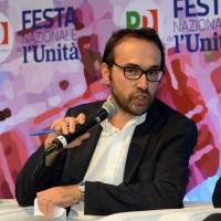 Foto Nicoloro G. 05/09/2018 Ravenna Continua la Festa Nazionale de l' Unita'. nella foto il giornalista Andrea Carugati.