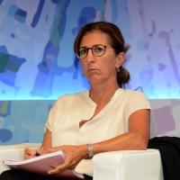 Foto Nicoloro G. 05/09/2018 Ravenna Continua la Festa Nazionale de l' Unita'. nella foto Marcella Panucci, direttrice generale di Confindustria.