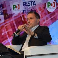 Foto Nicoloro G. 05/09/2018 Ravenna Continua la Festa Nazionale de l' Unita'. nella foto il giornalista Massimo Giannini.
