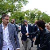 Foto Nicoloro G. 03/09/2018 Ravenna Festa Nazionale de L' Unitaì. nella foto il presidente della Camera Roberto Fico al suo arrivo alla Festa.