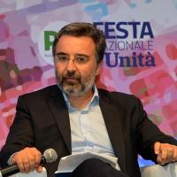 Foto Nicoloro G.   03/09/2018   Ravenna   Festa Nazionale de l' Unita'. nella foto il direttore de l' Espresso Marco Damilano.