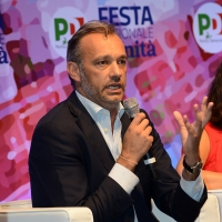 Foto Nicoloro G.   03/09/2018   Ravenna   Festa Nazionale de l' Unita'. nella foto il senatore PD Matteo Richetti.