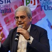 Foto Nicoloro G.   03/09/2018   Ravenna   Festa Nazionale de l' Unita'. nella foto il deputato Gianni Dal Moro.