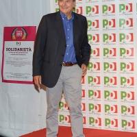 Foto Nicoloro G.02/09/2016 Ravenna Festa dell' Unita'. nella foto l' onorevole Pierluigi Bersani ospite della serata.