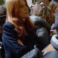 Foto Nicoloro G. 11/11/2016 Milano Nella sala Alessi di palazzo Marino si e' svolto in forma laica il funerale dell' oncologo Umberto Veronesi. nella foto Michela Vittoria Brambilla.