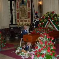 Foto Nicoloro G. 11/11/2016 Milano Nella sala Alessi di palazzo Marino si e' svolto in forma laica il funerale dell' oncologo Umberto Veronesi. nella foto il figlio dell' oncologo Paolo Veronesi.