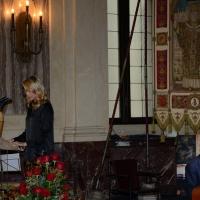 Foto Nicoloro G. 11/11/2016 Milano Nella sala Alessi di palazzo Marino si e' svolto in forma laica il funerale dell' oncologo Umberto Veronesi. nella foto la nipote Elena.