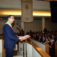 Foto Nicoloro G. 18/09/2016 Milano Inaugurazione della Giornata europea della Cultura Ebraica alla presenza del ministro della Difesa. nella foto il sindaco Giuseppe Sala.