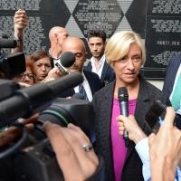 Foto Nicoloro G. 18/09/2016 Milano Inaugurazione della Giornata europea della Cultura Ebraica alla presenza del ministro della Difesa. nella foto il ministro Roberta Pinotti.