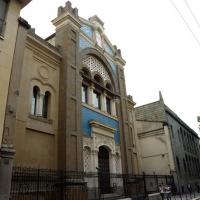 Foto Nicoloro G. 18/09/2016 Milano Inaugurazione della Giornata europea della Cultura Ebraica alla presenza del ministro della Difesa. nella foto la Sinagoga centrale di Milano.