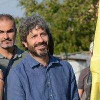 Foto Nicoloro G. 22/09/2017 Rimini Seconda giornata della quarta edizione di ' Italia 5 Stelle ', manifestazione a carattere nazionale del Movimento. nella foto il deputato Roberto Fico.