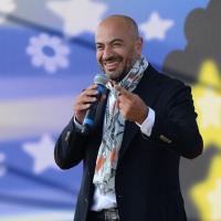 Foto Nicoloro G. 22/09/2017 Rimini Seconda giornata della quarta edizione di ' Italia 5 Stelle ', manifestazione a carattere nazionale del Movimento. nella foto il giornalista e conduttore televisivo Gianluigi Paragone.