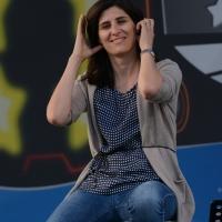 Foto Nicoloro G. 22/09/2017 Rimini Seconda giornata della quarta edizione di ' Italia 5 Stelle ', manifestazione a carattere nazionale del Movimento. nella foto Chiara Appendino, sindaco di Torino.