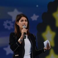 Foto Nicoloro G. 22/09/2017 Rimini Seconda giornata della quarta edizione di ' Italia 5 Stelle ', manifestazione a carattere nazionale del Movimento. nella foto Virginia Raggi, sindaco di Roma.