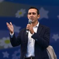 Foto Nicoloro G. 22/09/2017 Rimini Seconda giornata della quarta edizione di ' Italia 5 Stelle ', manifestazione a carattere nazionale del Movimento. nella foto Fabio Fucci, sindaco di Pomezia.