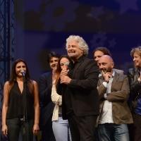 Foto Nicoloro G. 22/09/2017 Rimini Seconda giornata della quarta edizione di ' Italia 5 Stelle ', manifestazione a carattere nazionale del Movimento. nella foto Beppe Grillo.