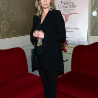 Foto Nicoloro G. 03/12/2017 Ravenna 46° edizione del ' Premio Guidarello ' per il Giornalismo d' Autore. nella foto la giornalista e conduttrice televisiva Iona Sermoneta, premiata per la sezione Turismo.