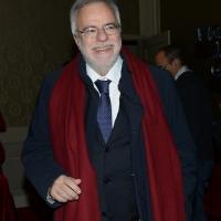 Foto Nicoloro G. 03/12/2017 Ravenna 46° edizione del ' Premio Guidarello ' per il Giornalismo d' Autore. nella foto Andrea Riccardi, storico, accademico e fondatore della Comunita' di Sant' Egidio, che ha ricevuto il Premio Guidarello ad honorem.