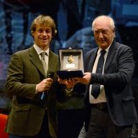 Foto Nicoloro G. 03/12/2017 Ravenna 46° edizione del ' Premio Guidarello ' per il Giornalismo d' Autore. nella foto Alberto Angela, paleontologo, scrittore e divulgatore scientifico, che e' stato premiato per la sezione Radio/Televisione.