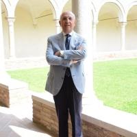 Foto Nicoloro G. 25/07/2017 Ravenna Presentazione del programma dell' edizione 2017 dell' evento ' Dante 2021 ', ricorrenza del VII centenario della morte del Sommo Poeta. Questa edizione che si svolgera' dal 13 al 17 settembre ha per titolo ' il lungo studio e il grande amore '. nella foto il presidente ABI Antonio Patuelli.