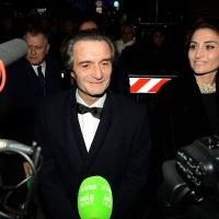 Foto Nicoloro G. 07/12/2018 Milano Tradizionale Prima della Scala che quest' anno apre con ' Attila ' di Giuseppe Verdi. nella foto il governatore della Lombardia Attilio Fontana.