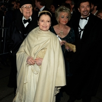 07/12/2018 Milano Tradizionale Foto Nicoloro G. Prima della Scala che quest' anno apre con ' Attila ' di Giuseppe Verdi. nella foto Carla Fracci.