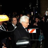 Foto Nicoloro G. 07/12/2018 Milano Tradizionale Prima della Scala che quest' anno apre con ' Attila ' di Giuseppe Verdi. nella foto l' arrivo del Presidente Sergio Mattarella.