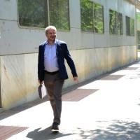 Foto Nicoloro G. 12/05/2018 Milano Riunione dei delegati negoziatori della Lega e del M5S per trovare una soluzione per il ' Contratto di Governo '. nella foto l' economista e deputato Claudio Borghi.