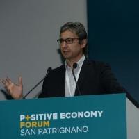 Foto Nicoloro G. 07/04/2016 Coriano (RN) Comunita' di San Patrignano Terza edizione del ' Positive Economy Forum '. nella foto il sindaco di Rimini Andrea Gnassi.