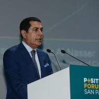Foto Nicoloro G. 07/04/2016 Coriano (RN) Comunita' di San Patrignano Terza edizione del ' Positive Economy Forum '. nella foto Nassir Abdulaziz Al-Nasser, alto rappresentante ONU.