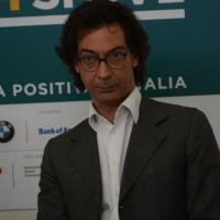 Foto Nicoloro G. 07/04/2016 Coriano (RN) Comunita' di San Patrignano Terza edizione del ' Positive Economy Forum '. nella foto Antonio Tinelli, coordinatore comitato sociale di San Patrignano.