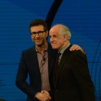 Foto Nicoloro G. 13/11/2016 Milano Trasmissione televisiva su Rai 3 ' Che tempo che fa '. nella foto Fabio Fazio e l' attore Toni Servillo.