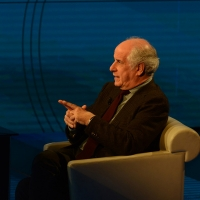 Foto Nicoloro G. 13/11/2016 Milano Trasmissione televisiva su Rai 3 ' Che tempo che fa '. nella foto l' attore Toni Servillo.