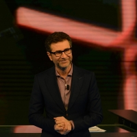 Foto Nicoloro G. 13/11/2016 Milano Trasmissione televisiva su Rai 3 ' Che tempo che fa '. nella foto il conduttore Fabio Fazio.