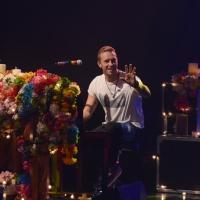 Foto Nicoloro G. 13/11/2016 Milano Trasmissione televisiva su Rai 3 ' Che tempo che fa '. nella foto Chris Martin dei Coldplay.